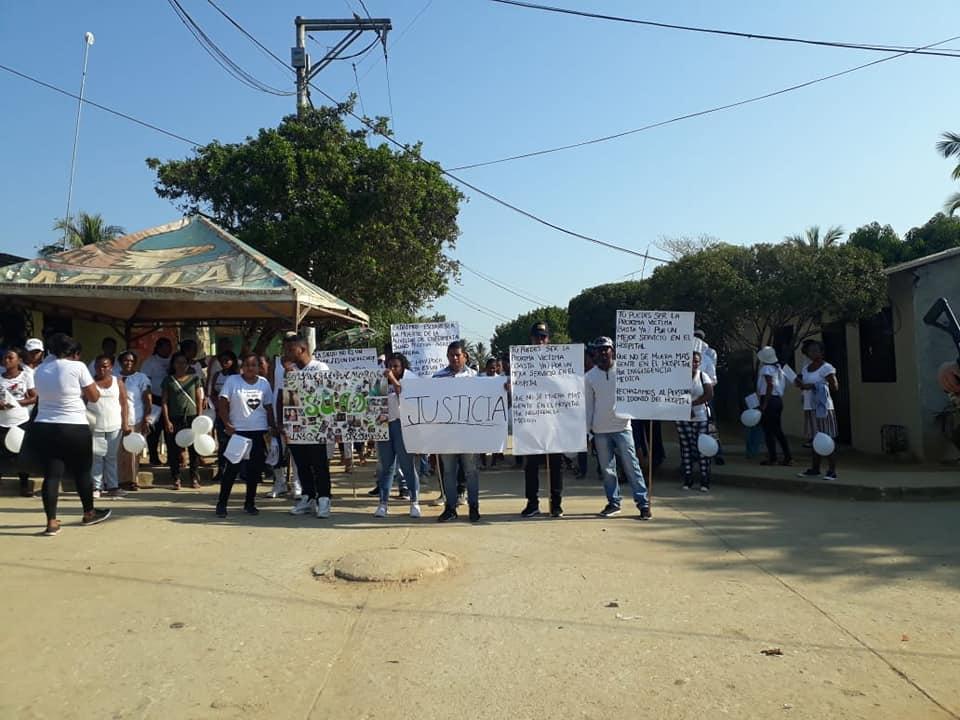 San Onofre protesta hospital