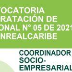 Abierta convocatoria para proveer cargo de coordinador socioempresarial en dos alianzas productivas