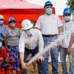 En Cruz del Beque se  inaugura segunda fase de redes de acueducto